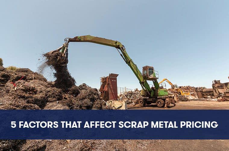 Scrap Metal Recycling Pricing