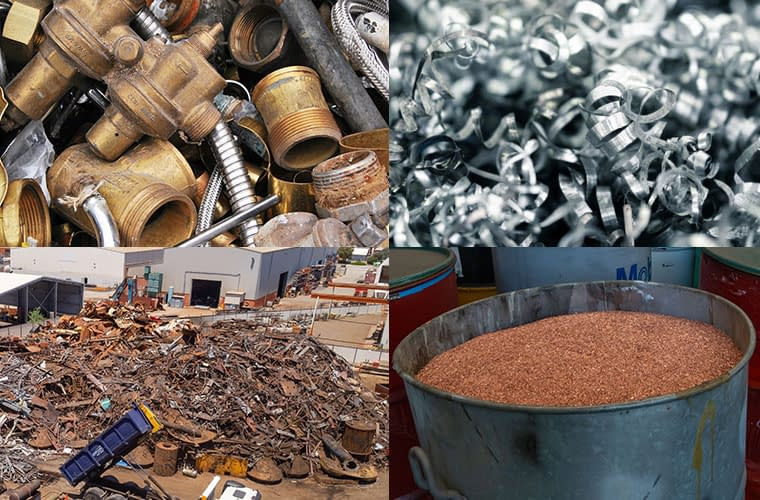 Most Commonly Recycled Metals