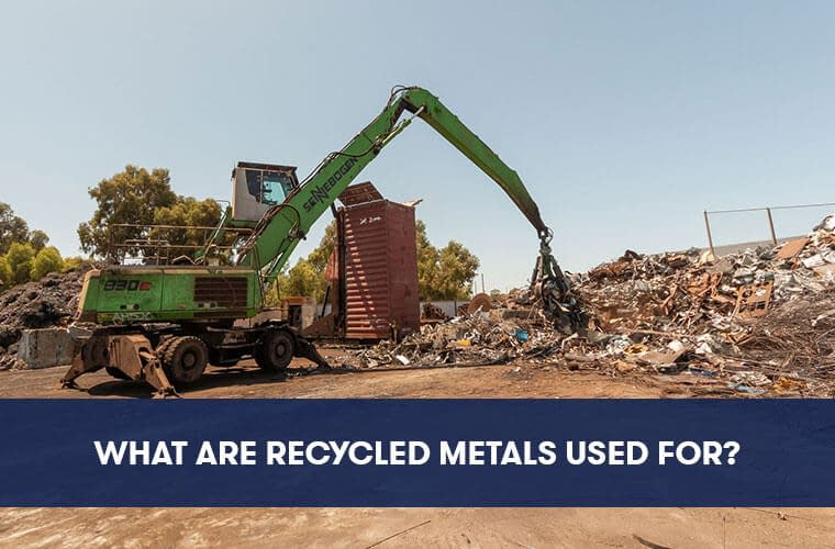 What Are Recycled Metals Used For?