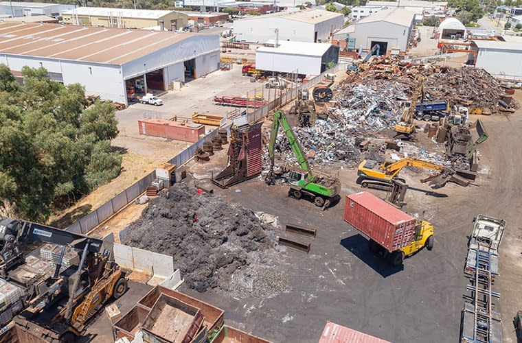 Scrap Metal Recycling Perth