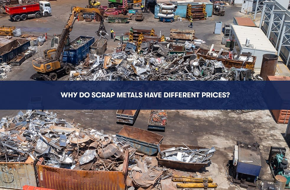 Why Do Scrap Metals Have Different Prices?